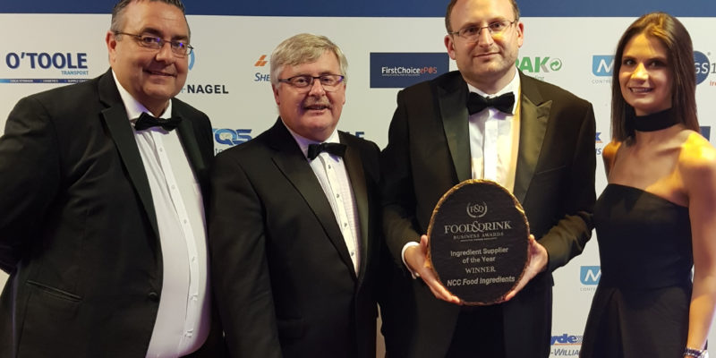 NCC Food Ingredients wins Ingredients Supplier of the Year Award